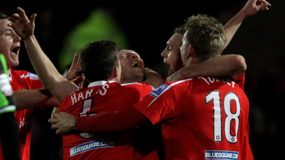Hollywood stars buy lowly Welsh football club – with big dreams
